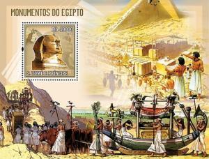 SAO TOME E PRINCIPE 2006 SHEET MONUMENTS OF EGYPT st6103b