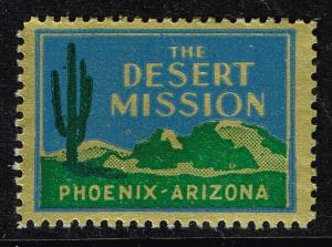 US STAMP Desert Mission TB Charity Seal Collection MNH/OG STAMP LOT #4