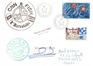 1990 French Southern & Antarctic Territory, Antarctic Cachet and/or Cancel  #111