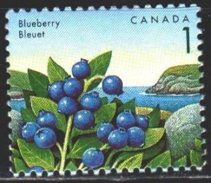 Canada. 1992. 1307 from the series. Blueberry. MNH.