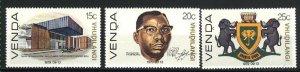 South Africa-Venda 2-4   Mint NH VF 1979 PD