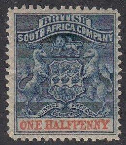 Rhodesia 1 MH CV $4.75