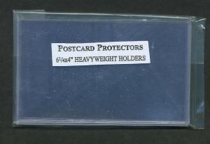 Postcard Protectors, Pkg 10, 01724