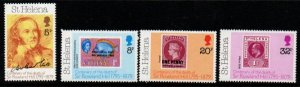 St Helena Sc 328-31 1979 Death of Sir Rowland Hill stamp set mint NH