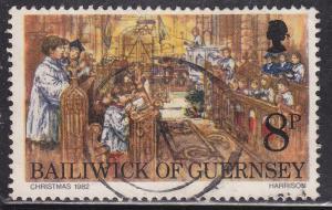 Guernsey 250 Hinged 1982 Midnight Mass