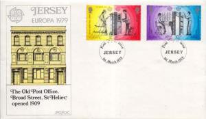 Jersey, First Day Cover, Europa
