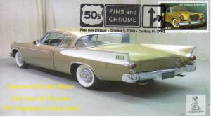 50s Fins & Chrome First Day Cover #5, from Toad Hall Covers!