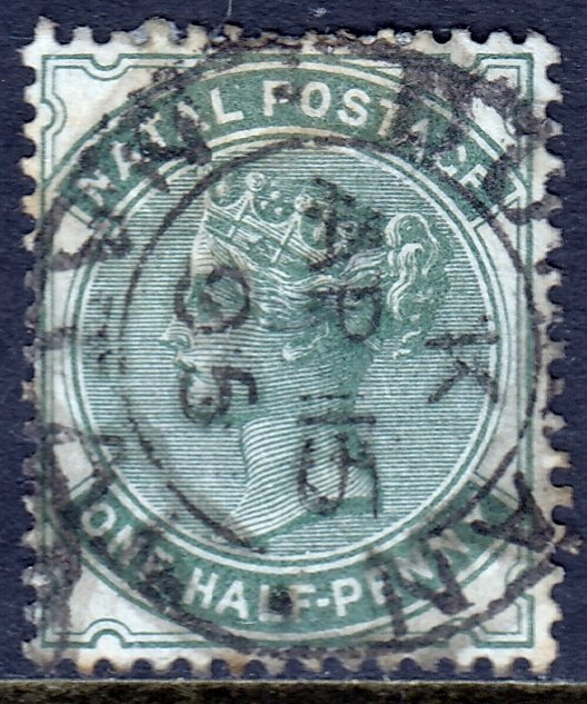 Natal - Scott #66 - Used - Toning - SCV $1.40