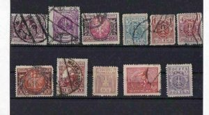 POLAND STAMPS ON 3 STOCK CARDS REF R764