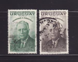Uruguay 602, 604 U President Franklin D Roosevelt (D)