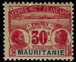 Mauritania Sc J5 Mint OG F-VF SCV$12.50...Colonies are in demand!