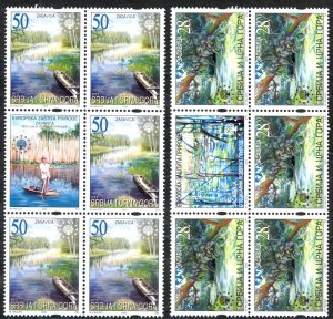 Serbia Sc# 192-193 MNH Block/5 2003 Nature Protection