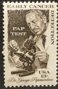 US MNH #1754 Single Dr George Papanicolaou SCV $.25 L3
