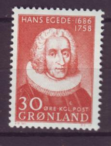 J16592 JLstamps 1958 greenland set of 1 mnh #46 misionary