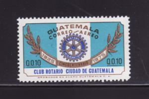 Guatemala C567 MNH Rotary International (C)