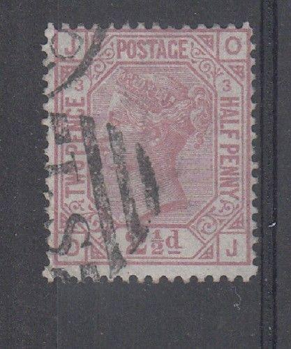 Great Britain Scott 66 Used plate 3 (Catalog Value $130.00)