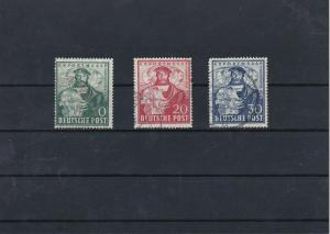 Germany 1949 Hanover Trade Fair Used Stamp Set Ref: R5486