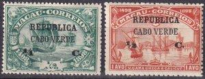 Cape Verde #112-3 Unused CV $3.00 (Z2523)