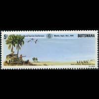 BOTSWANA 1980 - Scott# 257 Game Watching Set of 1 NH