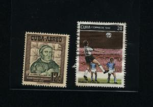 Cuba  2 different   used PD