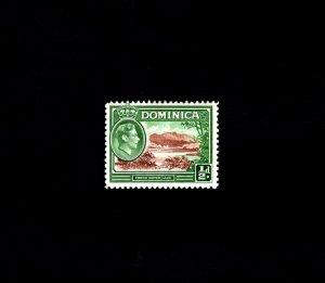 DOMINICA - 1938 - KG VI - FRESH-WATER LAKE # 97 - SCAN 2 - MINT - MNH SINGLE!