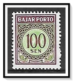 Indonesia #J97 Postage Due MH