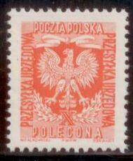Poland 1954 SC# O31 MNH-OG L394