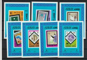 Ajman Mint Never Hinged Stamps Sheets ref R 16707