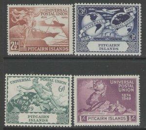 PITCAIRN ISLANDS SG13/6 1949 75th ANNIV OF U.P.U. MNH