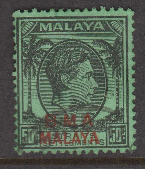 Straits Settlements Sc#267 Used