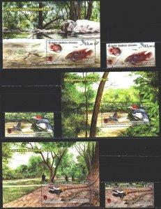 Sri Lanka. 2019. Sri Lanka fauna, butterflies, elephants. MNH.