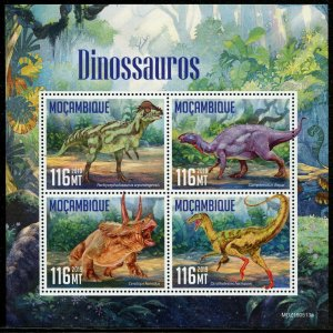 MOZAMBIQUE 2019  DINOSAURS  SHEET MINT NEVER HINGED