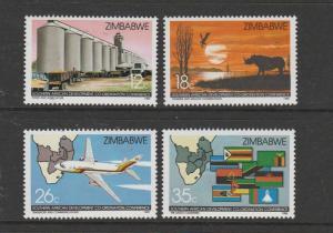 Zimbabwe 1986 Development UM SG 690/3