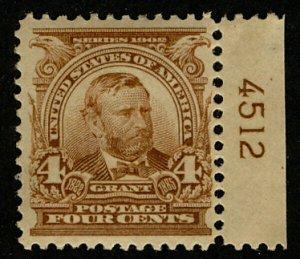 MALACK 303 XF+ OG VLH, super nice stamp, Choice! b2734