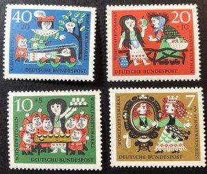 Germany B384-7 MNH Fairy tales