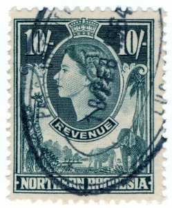 (I.B) Northern Rhodesia Revenue : Duty Stamp 10/-