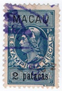(I.B) Portugal Colonial Revenue : Macau Duty 2p