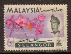 Malaya-Selangor  #124  used  (1965)