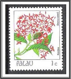 Palau #126 Indigenous Flowers MNH