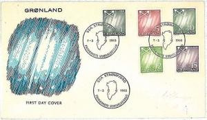 FISHING - POSTAL HISTORY:  GREENLAND - FDC - 1963