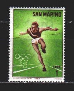 San Marino. 1964. 802. Running, Tokyo Summer Olympics. MNH.