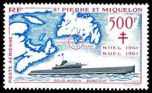 St. Pierre & Miquelon #C25 MNH CV$130.00 [6891] [144813]