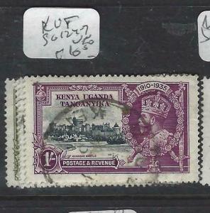 KENYA,UGANDA,TANGANYIKA   (P2903BB) KGV SILVER JUBILEE SG 124-7      VFU