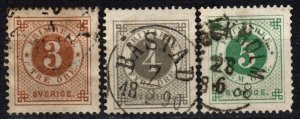 Sweden #41-3  F-VF Used CV $28.00 (X5358)