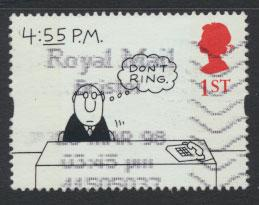 Great Britain SG 1909p  Used  - Greetings Booklet - Cartoons