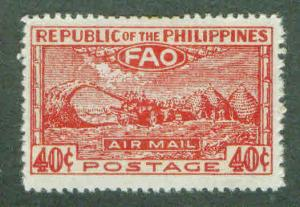 Philippines Scott C67 MH* FAO airmail stamp cv $10
