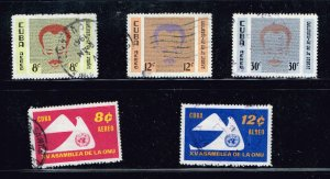 CUBA STAMP Airmail Stamps Collection Lot #S7