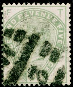 SG193, 5d dull green, USED. Cat £200. TF