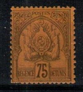 Tunisia Scott 23 Mint hinged (Catalog Value $35.00)