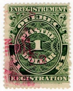 (I.B) Canada Revenue : Quebec Registration $1